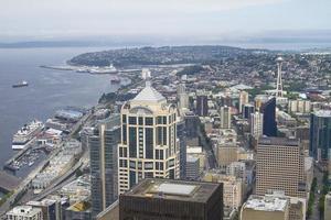 skyline van Seattle, ons foto