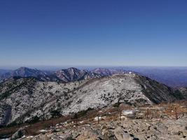 landschap in soraksan nationaal park, zuid-korea foto