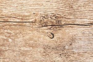 close-up van houtstructuur, structuur van natuurlijk oud hout foto