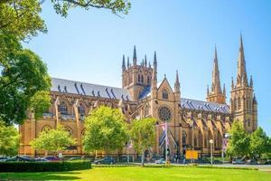 st marys kathedraal in sydney, australië foto