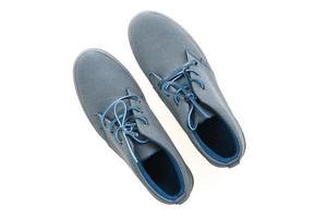 mannen schoenen op witte achtergrond foto