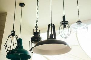vintage plafondlamp lamp foto