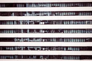 raampatroon texturen van gebouw foto