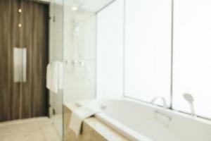 abstracte onscherpte en intreepupil badkamer en toilet interieur foto