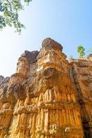 pha chor of de grand canyon chiangmai in mae wang nationaal park chiang mai thailand foto
