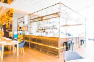 abstract vervagen restaurant foto