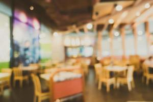 abstract vervagen coffeeshop foto