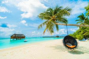prachtige maldiven eiland foto