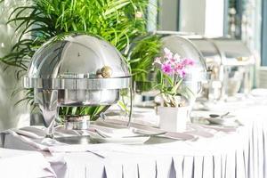 catering buffetrestaurant foto