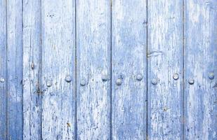 blauwe houten achtergrondtextuur foto