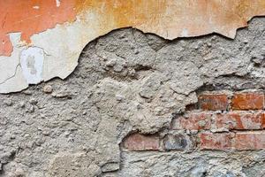 textuur van oude vuile betonnen wand foto