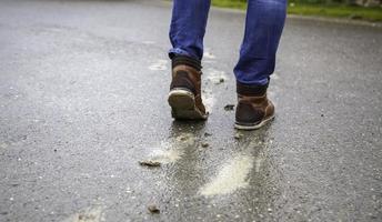 laars met modder foto