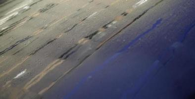 glazen regendruppels detail foto