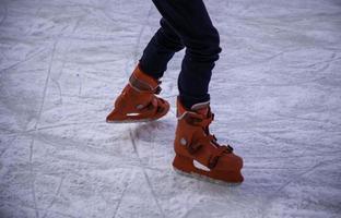 schaatsen buiten foto