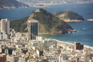 van het kinderheuvelpad in Copacabana foto