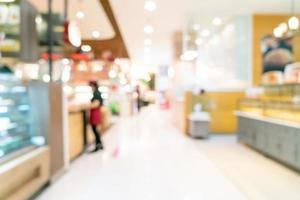 abstract vervagen winkelcentrum voor achtergrond foto
