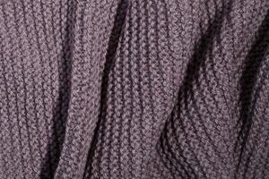 gebreide bruine sjaaltextuur foto