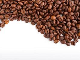 koffiebonen en koffiemolen foto
