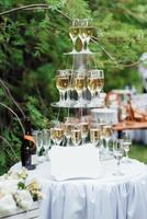 bruiloft bloem decor foto