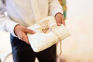 gouden trouwringen foto