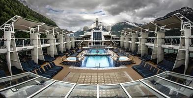 alaska, 2021 - prachtig cruiseschip in alaska foto