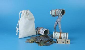 rendement op investering concept foto