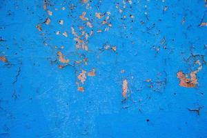 muur met oud afbladderend stucwerk foto