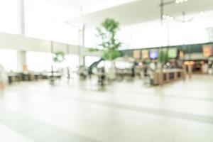 abstract vervagen food court in winkelcentrum voor achtergrond foto