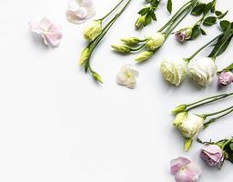 kader van bloemen foto