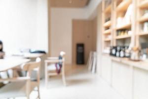 abstract vervagen coffeeshop café en restaurant voor achtergrond foto