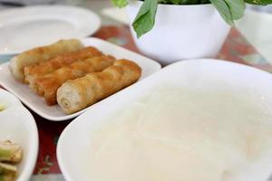 heerlijk Vietnamees eten foto
