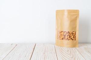 cashewnoten in zak foto