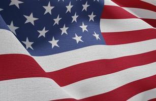 ons verkiezingenconcept met de vlag van Amerika. mooi fotoconcept van hoge kwaliteit foto