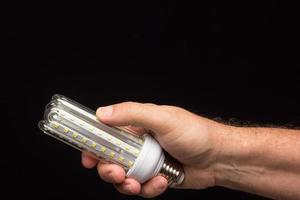 spaarlamp, klaar om te worden geïnstalleerd foto