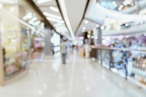 abstract vervagen luxe winkelcentrum en winkel voor achtergrond foto