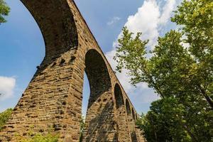 het Starrucca-viaduct in Pennsylvania foto