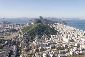 buurten copacabana en botafogo foto