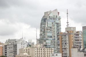 gebouwen van het stadscentrum van sao paulo foto