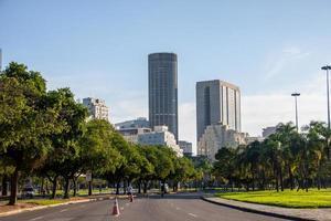 gebouwen in het centrum van Rio de Janeiro, Brazilië foto