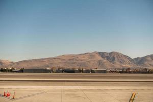 scènes rond de luchthaven van reno nevada in november foto