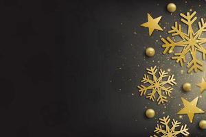 elegante prettige kerstdagen en gelukkig nieuwjaar achtergrond foto