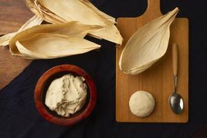 heerlijk traditioneel tamales-voedselassortiment? foto