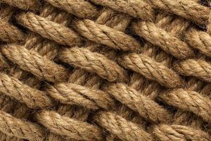 de ruwe samenstelling van de touwtextuur foto