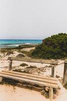 es calo de sant agusti vissersdorp op het eiland formentera foto