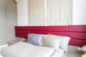 abstract vervagen slaapkamer interieur voor achtergrond foto