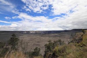 hawaï eiland, hawaï vulkanen nationaal park foto