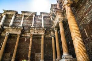 oude historische toeristische plaats sardes foto
