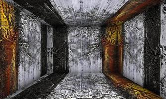 abstracte kunst verf kamer interieur podium foto