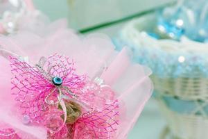 kleurrijk bruidsboeket mooie romantische bloemen foto