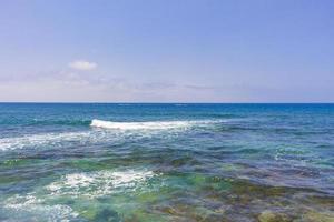 de Atlantische Oceaan bij Tenerife, op de Canarische Eilandenary foto